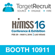 TargetRecruit Introduces its Healthcare Platform at HIMSS 2016 Conference
