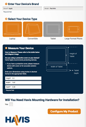 Havis Computing Device Configurator