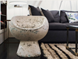 A weathered cement pod chair by Swiss designer Willy Guhl, shown in WRJ Design's Jackson, Wyoming, showroom, offered the jumping off point for a blog post.