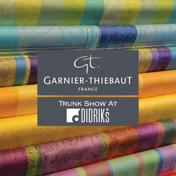 Didriks to launch new spring and summer collections for garnier thiebaut home - Garnier thiebaut gerardmer ...