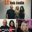 Simone Emmons at LA Talk Radio Station