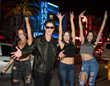 Jimmie and the Girls...on fire and on the streets of South Beach!