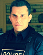 """Steve Cardenas, a former Mighty Morphin Power Ranger, takes on the role of Sgt. Rodriguez in """"A Brother's"""" Badge"""