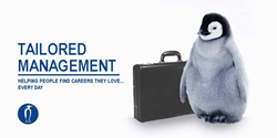 employment agency mascot Tailored Management