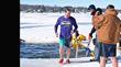 Mother Nature's Minus 15 Degrees Fahrenheit Wind Chill and Icy Waters Couldn't Stop JX Enterprises and Friends from Taking the Plunge to Support Cancer Research