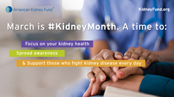 March is National Kidney Month image
