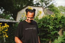 Ross Gay, winner of Claremont Graduate University's Kingsley Tufts Poetry Award