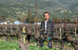 Cr. Joe Chuang in his Firefly Vineyards Napa Valley