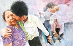 Painting by Tun Ki