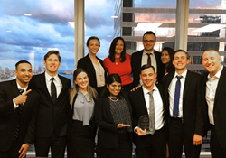 Stetson law school's Vis International Commercial Arbitration team placed first in the pre-moot in Miami.