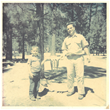 Marc Mondavi attributes his love of fishing to his father, the late Peter Mondavi Sr. (Pictured here together when Marc was a boy).