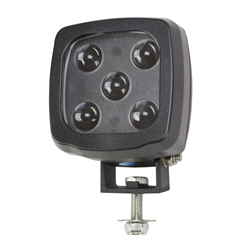 Blue Forklift LED Warning Spotlight that produces 2,250 Lumens