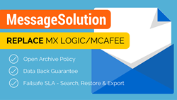 MessageSolution MX Logic Replacement Promotion