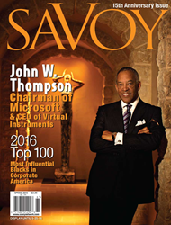 Savoy's 15th Anniversary Issue features an Exclusive Interview with...