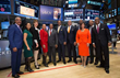 Members of Savoy's 2016 Top 100 Most Influential Blacks in Corporate America at the NYSE Bell Closing Celebration