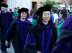 Stetson law school's commencement in 2015.