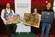 Artistic representations of the killing fields of Khojaly exhibited in Parliament