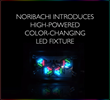 Noribachi Announces New High-Powered Color-Changing Floodlight.L RGBW