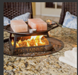 fire pit tables, hibachi tables, patio tables