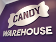 CandyWarehouse.com Metal Logo on Charlotte Lobby Wall