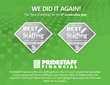 PrideStaff Financial Wins Back-To-Back Best Of Staffing® Client And Talent Diamond Awards From Inavero