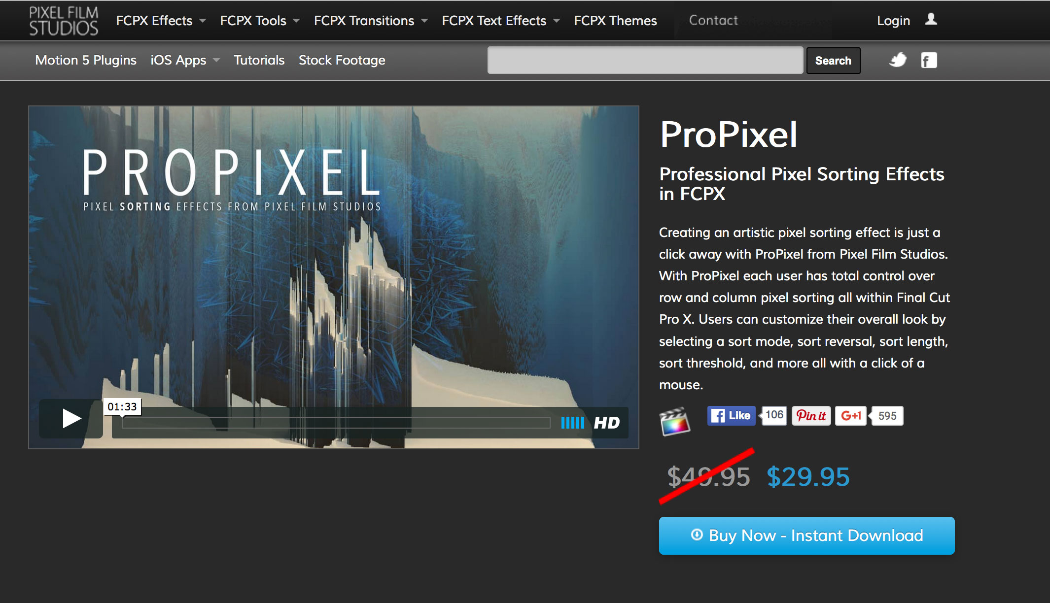All Effects and Plugins for Final Cut Pro, Premiere Pro, After