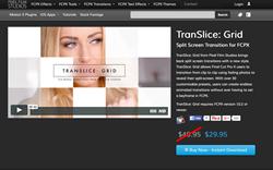 TranSlice Grid - PFS - Apple Final Cut Pro X