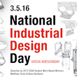 National Industrial #DesignDay is 3.5.16 - Join the Conversation on @IDSA