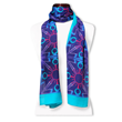 peace cashmere luxury scarf wear your word Mary DeArment blue teal