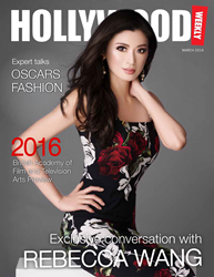 Rebecca Wang in an exclusive interview with Hollywood Weekly