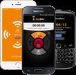 StaySafe App on 3 devices