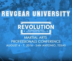 Revgear University Martial Arts Conference