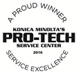 Loffler Companies Honored by Konica Minolta with a 2016 Pro-Tech Service Award for Service Excellence