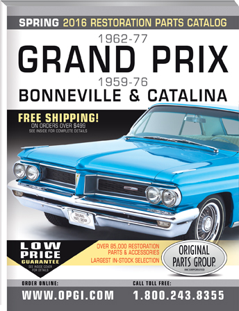 2016 Edition 1962-77 Pontiac Grand Prix & 1959-76 Bonneville