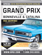 2016 Edition 1962-77 Pontiac Grand Prix & 1959-76 Bonneville/Catalina Restoration Parts Catalog