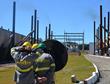 Acoustiblok consultants utilizing ARTVIS outside of power generation plant in Brazil