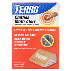 TERRO® Introduces Clothes Moth Alert