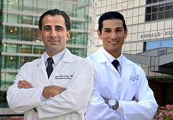 Dr. Christopher Zoumalan and Dr. Jason Roostaeian