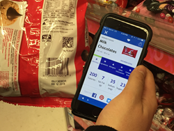 Scanbuy SmartLabel QR Codes for Hershey's