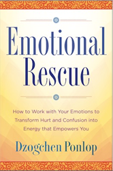 Emotional Rescue by Dzogchen Ponlop Rinpoche - front cover