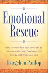 Emotional Rescue by Dzogchen Ponlop Rinpoche - front cover