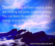 Dzogchen Ponlop Rinpoche emotions creative energy skillful quote