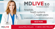 MDLIVE 3.0 framework enables hospitals and health systems launch branded telemedicine apps