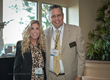 Andres Gonzalez, VP Business Development, Bauman Medical and Lisa Edone, VP Marketing, Restoration Robotics at the 2016 ARTAS Users Meeting in Laguna Niguel, CA.