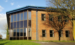 Aegg's 300% larger headquarters in Andover, Hampshire
