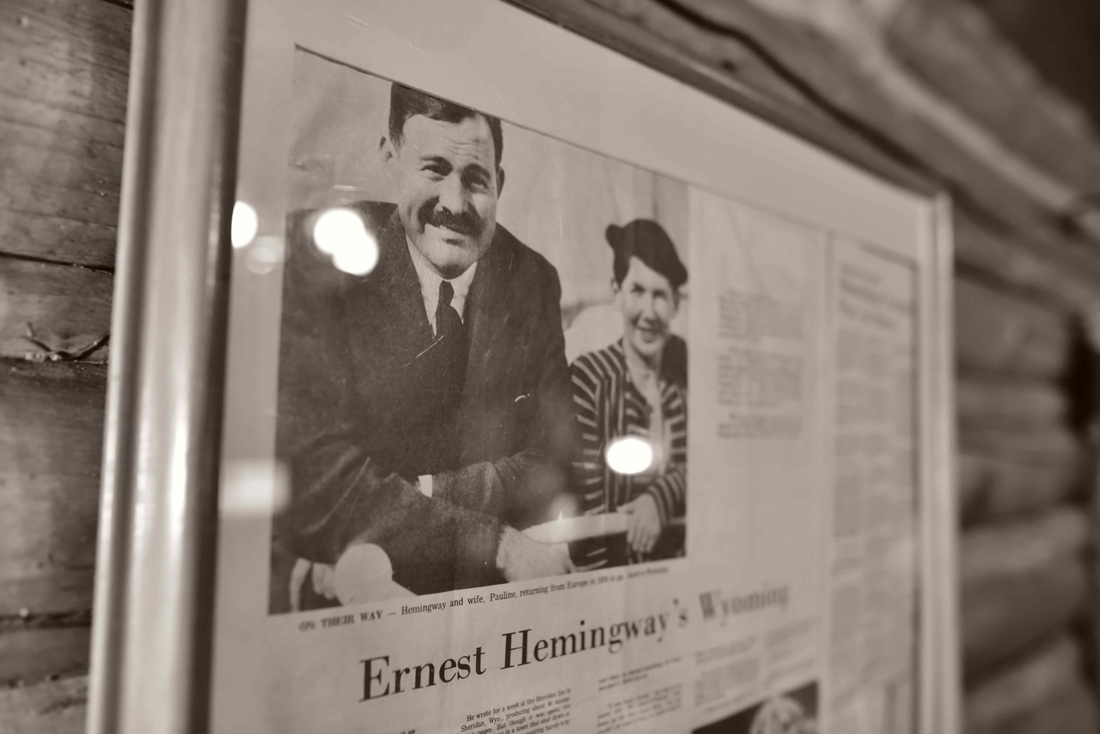 ernest hemingway article The hemingway papers is a collection of the writer's toronto star columns and more.