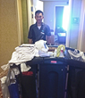 Nhat Do Keeps the Homewood Suites Clean
