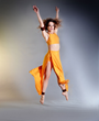 DBDT dancer Michelle Hebert in Instinct 11.1 choreographed by Francesca Harper. Photograph by Brian Guilliaux.
