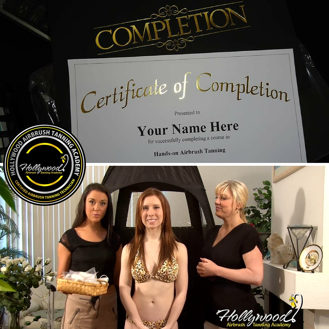 Hollywood Airbrush Tanning Academy Invites New Airbrush Tanning ...