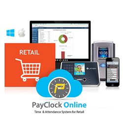 PayClock Online for retail employees